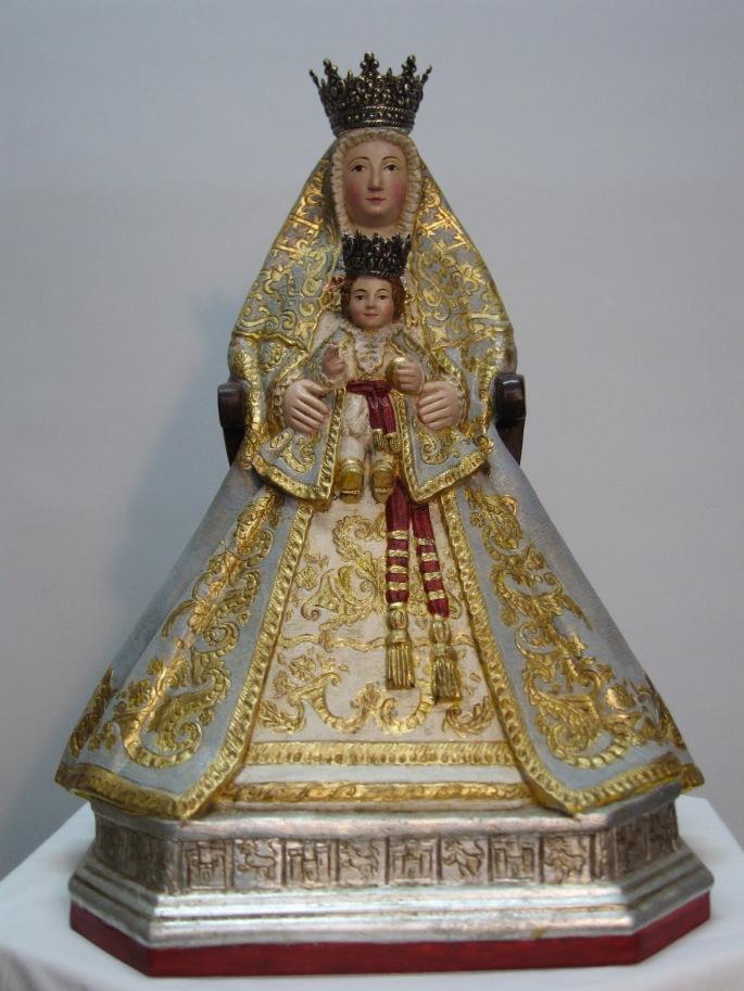 VIRGEN DE LOS REYES. PASTA DE MADERA. (37X29)600€..JPG
